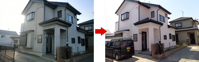 施工前と実際完成した家